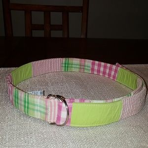 Lilly Pulitzer D-ring Belt